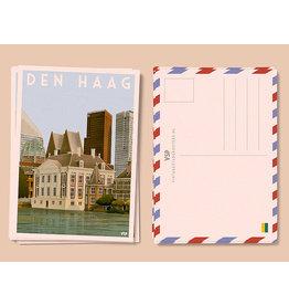 Vintage City Postcard Mauritshuis The Hague (6 pieces)