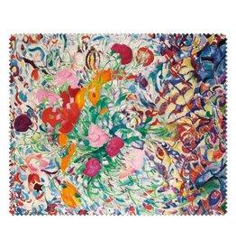 Lens Cloth Flowers for a floral patch, Leo Gestel