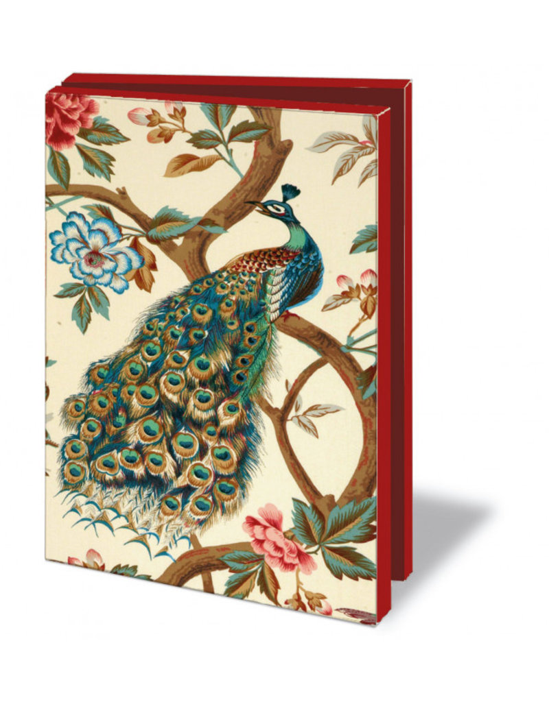 Kaartenmapje met env. The Magnificent Peacock