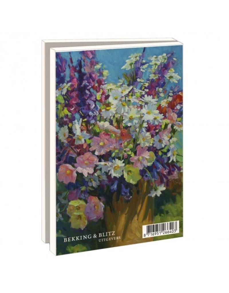 Card Wallet Flowers in vase, Juane Xue