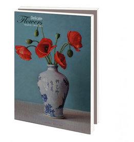 Kaartenmapje Delicate Flowers, Ingrid Smuling