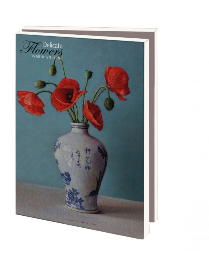 Card Wallet Delicate Flowers, Ingrid Smuling