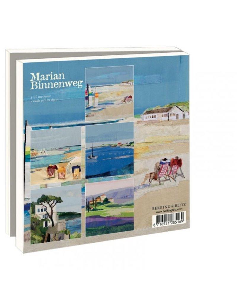 Card Wallet Birds, Holiday, Marian Binnenweg
