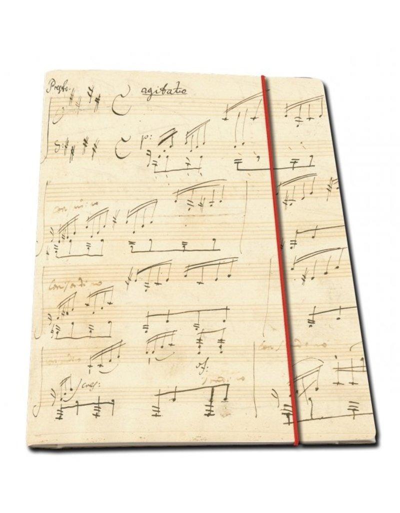 Portfoliomap A4: Moonlight Sonata op. 27,2, Ludwig van Beethoven