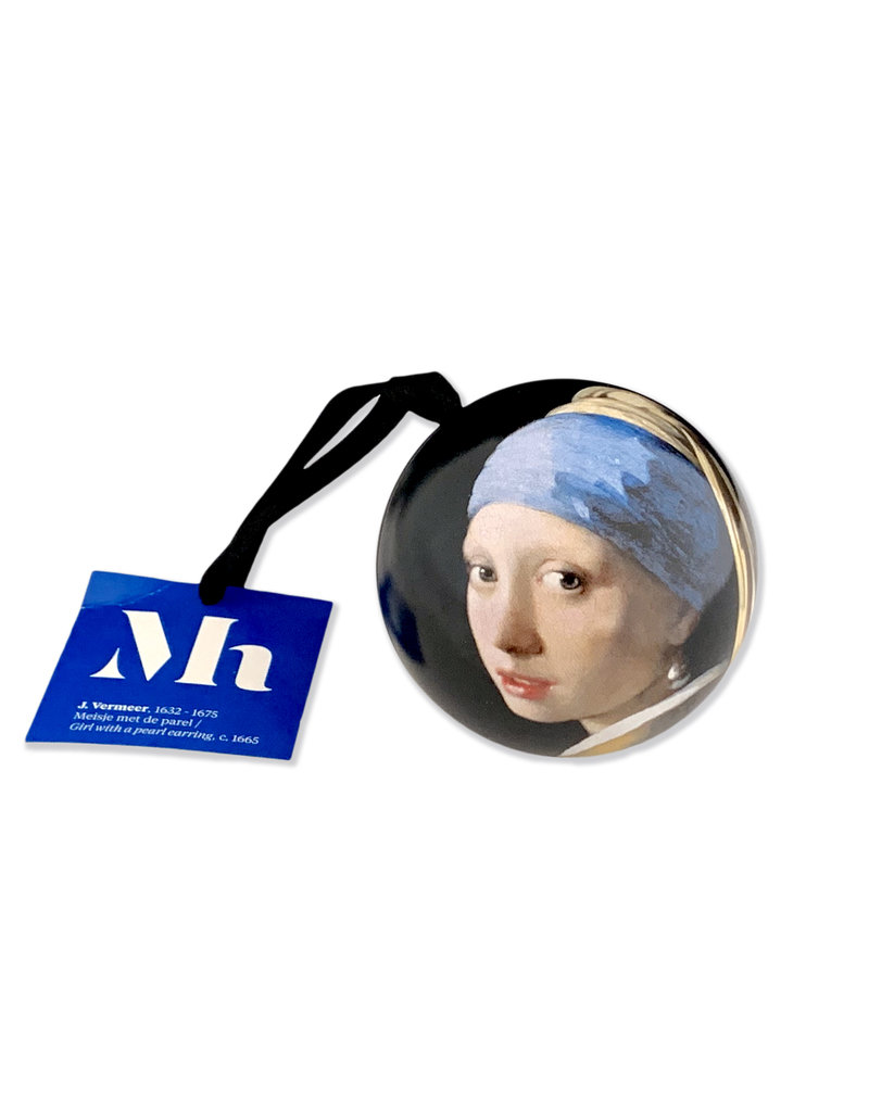 Christmas Ball Girl with a Pearl Earring