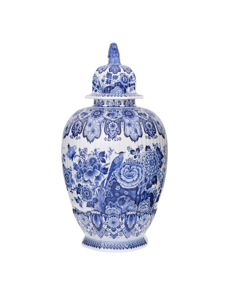 Delfts Blauwe Vaas 'Pul', handgeschilderd