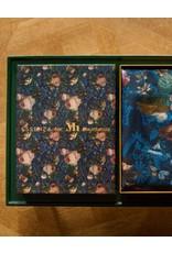 Essenza Dekbedovertrekset 260 x 220 cm Gallery of Roses Nightblue
