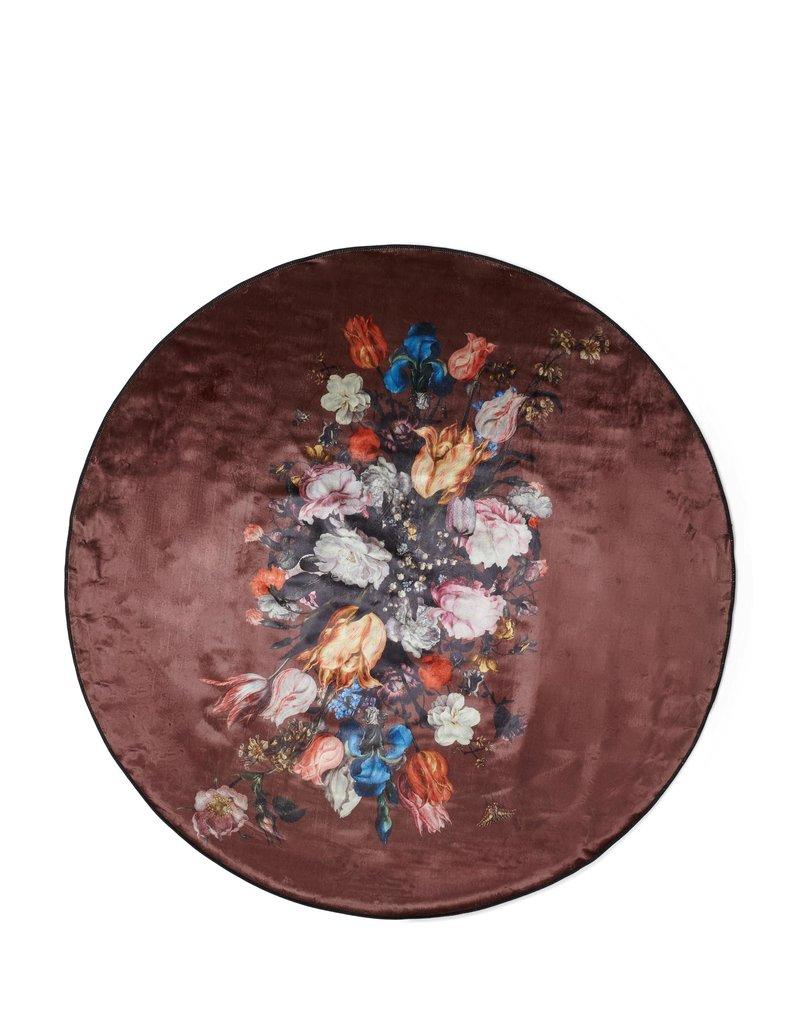 Essenza Carpet 180 cm round Beautiful Bouquet