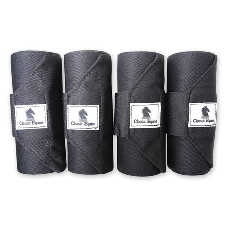 Classic Equine Standing wrap bandage, 4 pack 12 foot