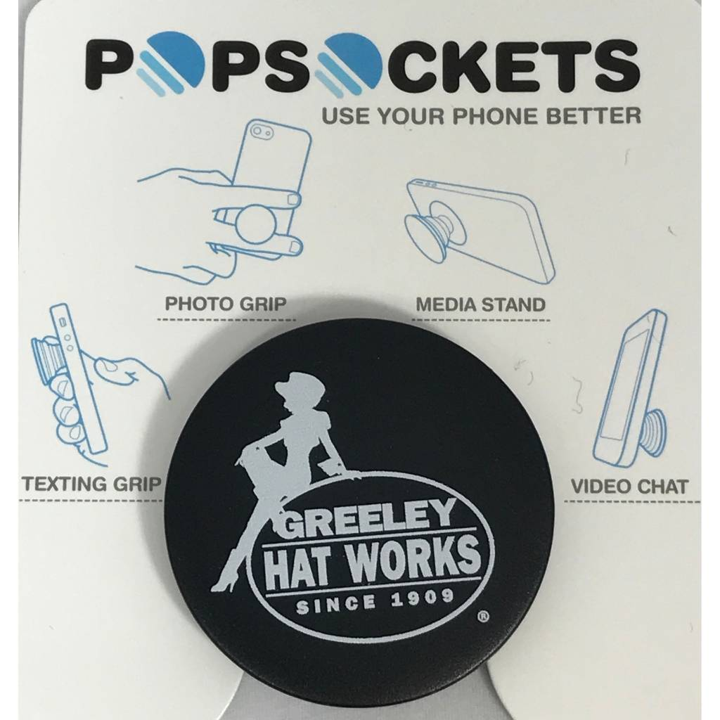 Greeley Hat Greeley popsockets