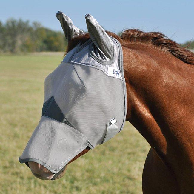 Cashel Crusader Vliegenmasker neus en oren