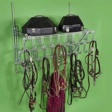 Royal Wire Equine 3-Tier Bridle rack