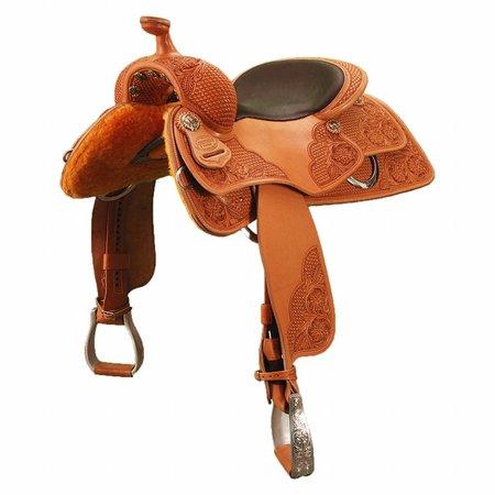 Jim Taylor Custom saddle Cavalier rcs 3.5 16 1/2