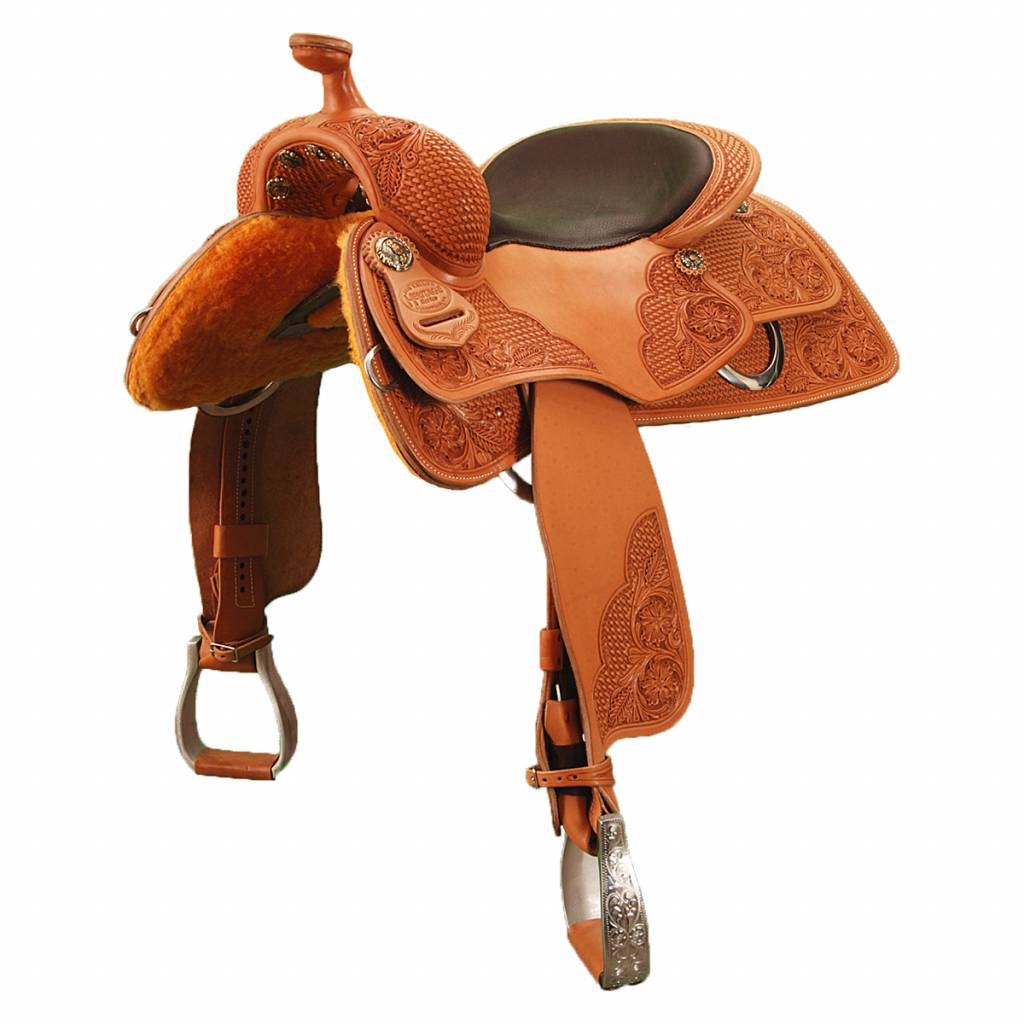 "Jim Taylor Custom saddle Cavalier DH 16 "" Heritage Series"
