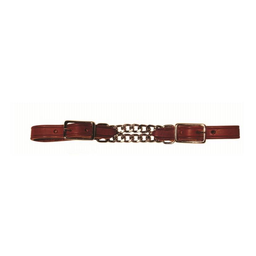 Berlin custom leather Curb Doppelkette