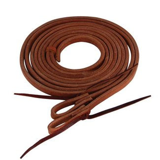 Western Rawhide Afgeronde waterloop reins / teugels
