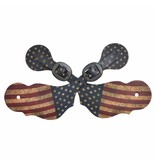 3D Belt Spurband US-Flagge