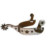 American Heritage Equine Herren Antique Brown Star Spur