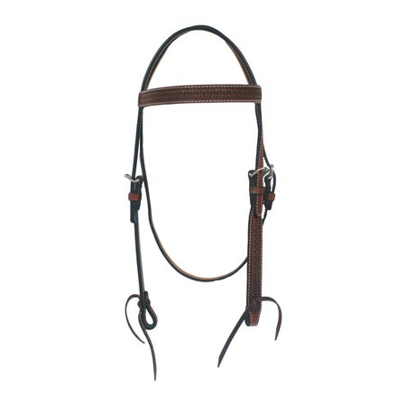 Western Fashion Accessories, Inc. Chestnut, Snowflake Headstall