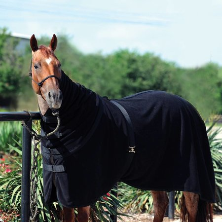 Classic Equine Polar fleece cooler Black