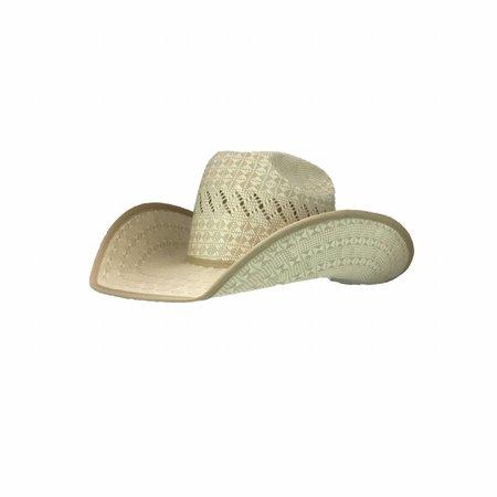 American Hat Company Champagne Patchwork chapeau