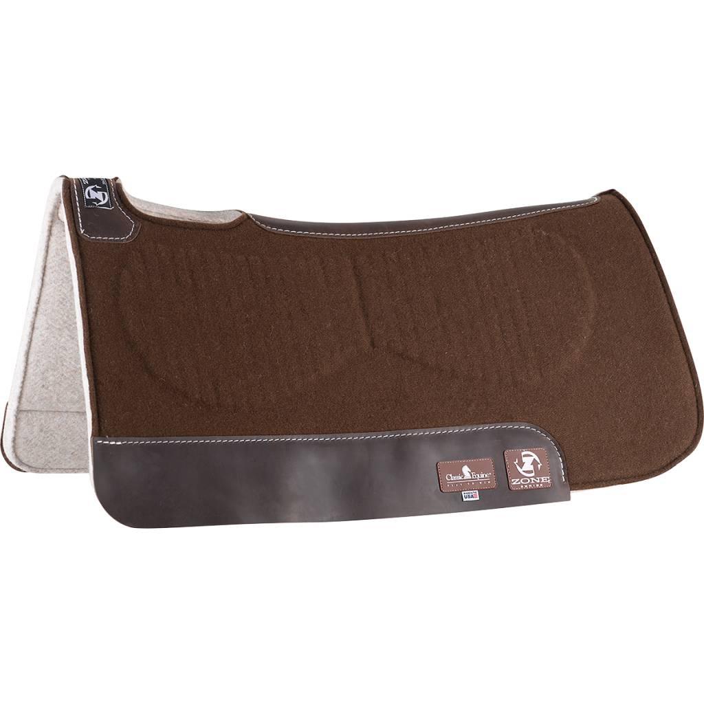 Classic Equine Zone pad - felt top felt bottom