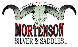 silver showhoofdstel Mortenson Silver