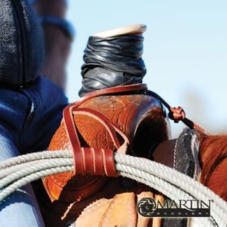 Martin Saddlery Rope / Lasso Strap W/Button Knot