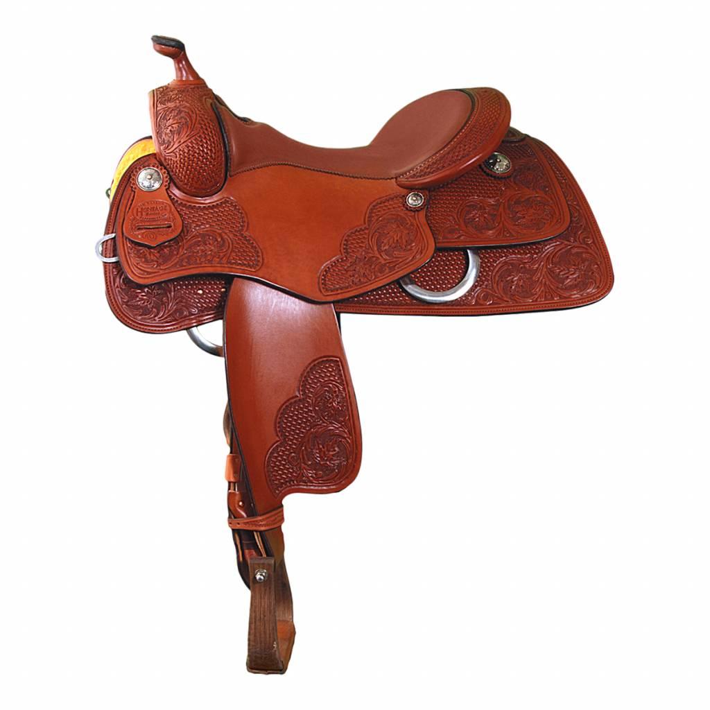 Jim Taylor Custom saddle Niagara 16 1/2 rcs 3.5 heritage serie