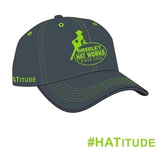 Greeley Hat GHW Neon green cap