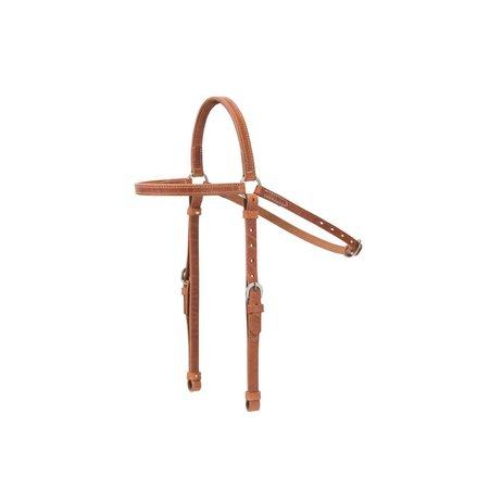 Weaver Leather Ken MCNabb Browband Hoofdstel