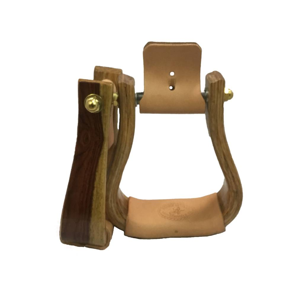 Nettles Stirrups 2'' Rosewood