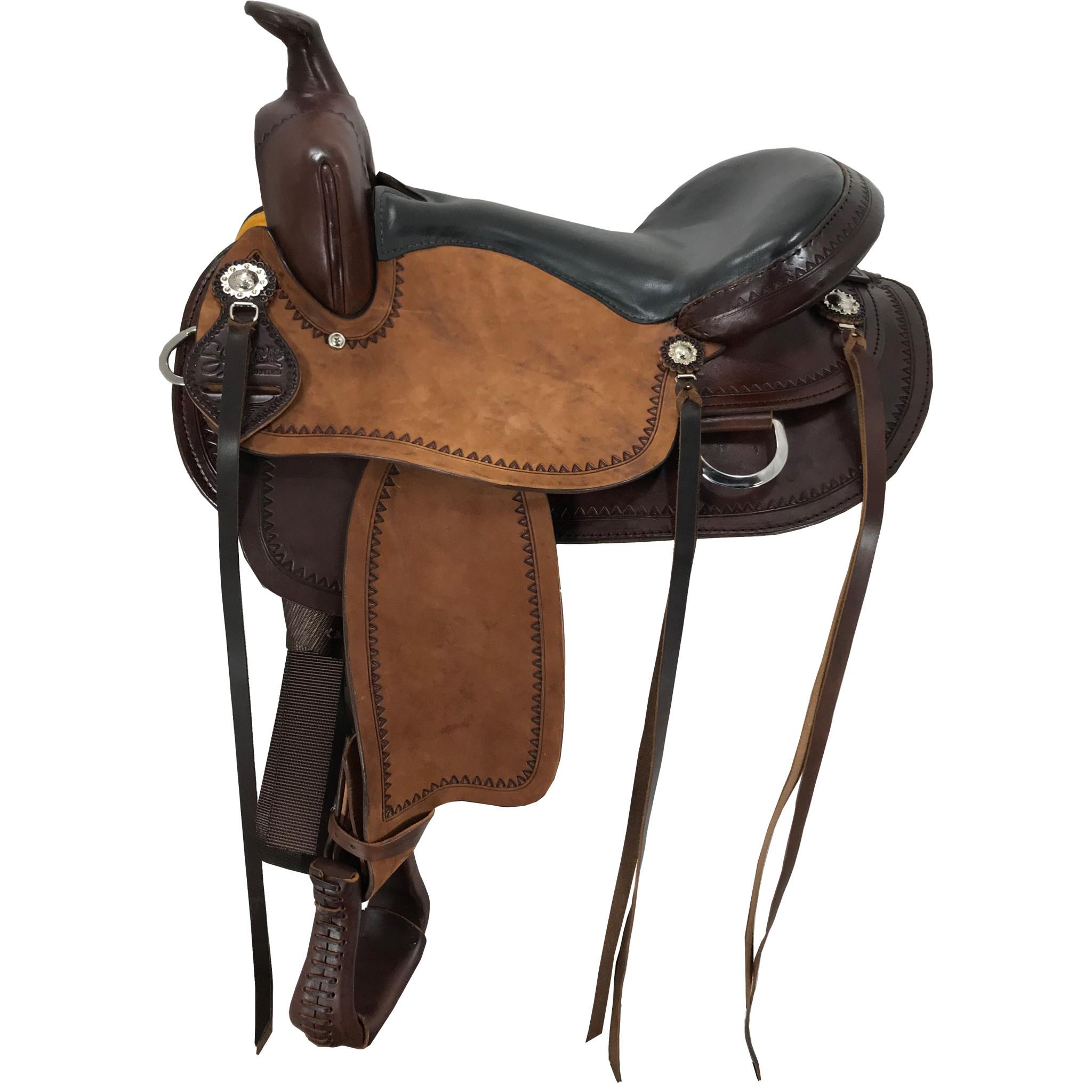 Scott Thomas Custom Saddles Larkspur Trail Rough Out