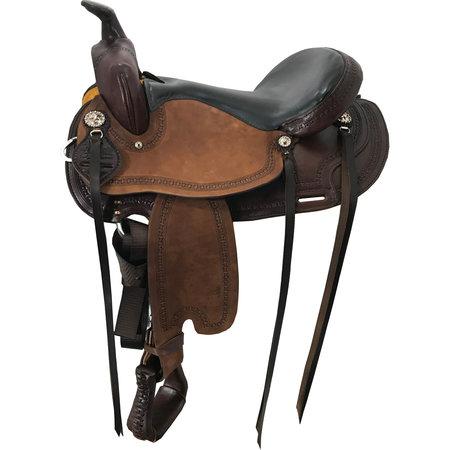 Scott Thomas Custom Saddles Monument Trail rau heraus