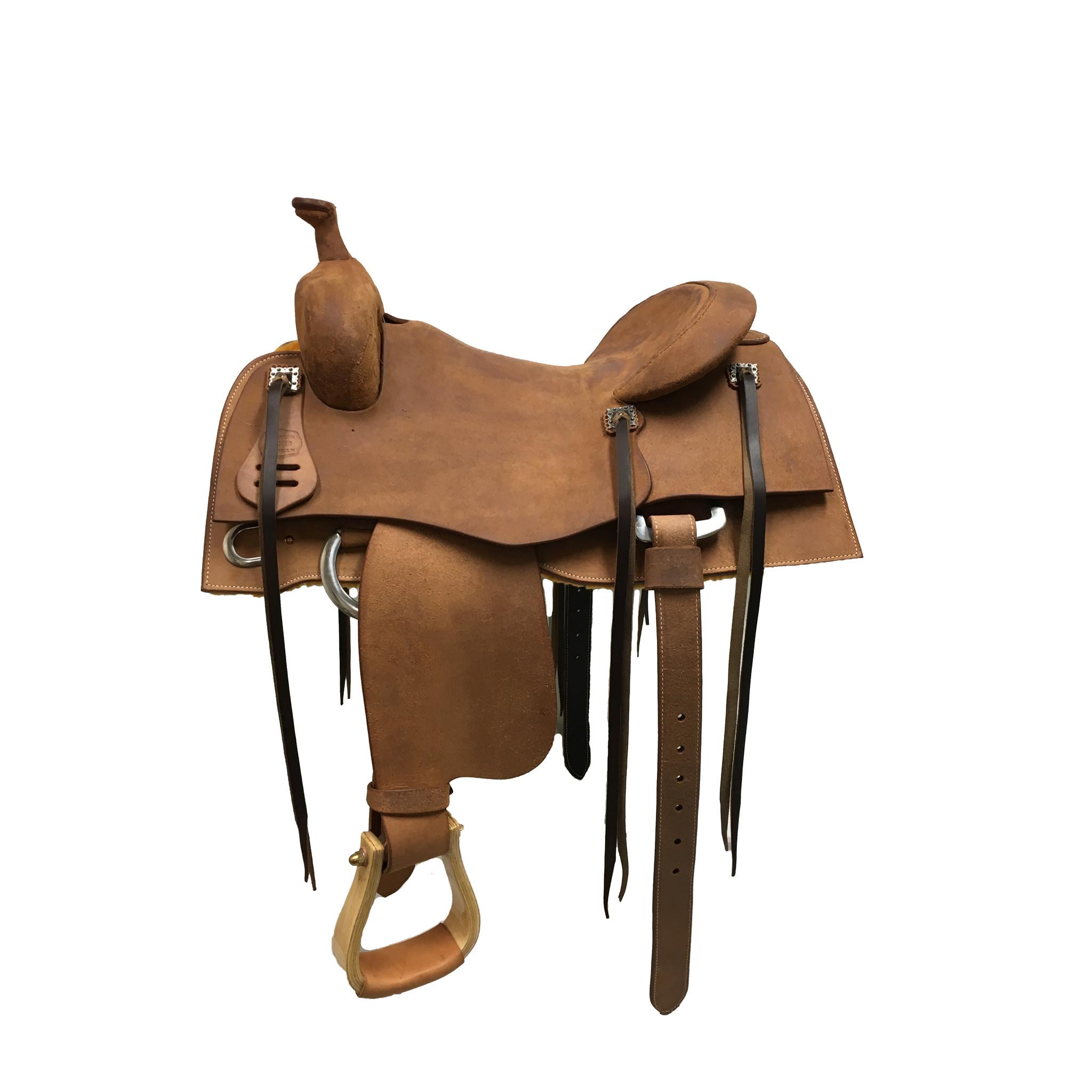Jim Taylor Custom saddle Jim taylor Heritage rough out trainer