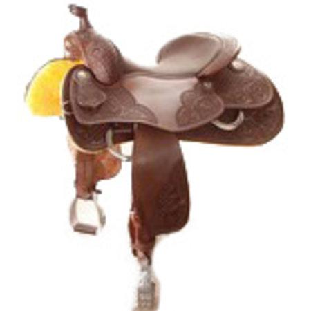Jim Taylor Custom saddle Dell Hendricks Reiner