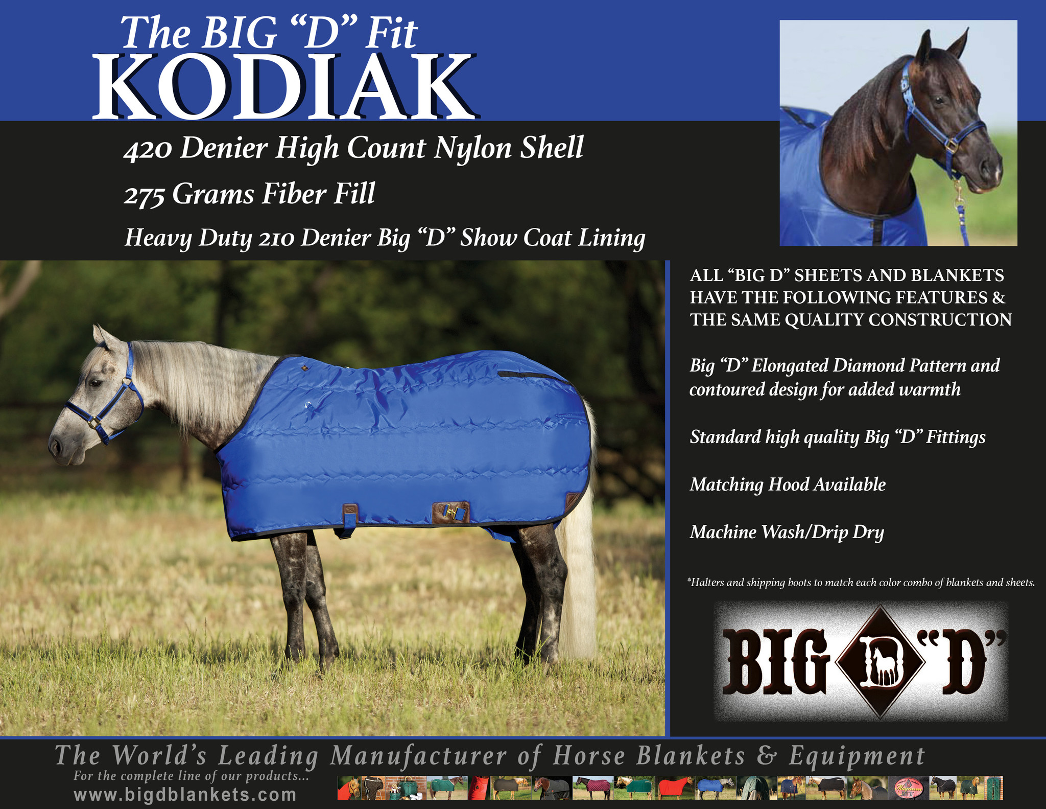 Big D Kodiak Stalldecke