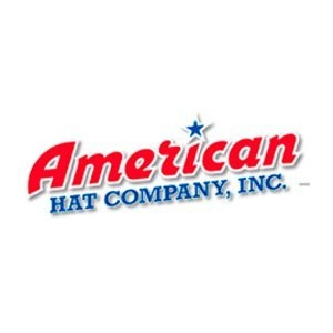 American Hat Company Three Tone Swirl Straw Hat