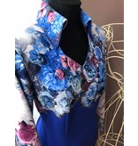 DE-Showoutfits DE Showjacke Blue Rose Größe M