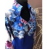 DE-Showoutfits DE Showjacket Blue Rose mt M