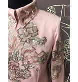 DE-Showoutfits DE Veste De Protection Vintage Rose Fleur taille M