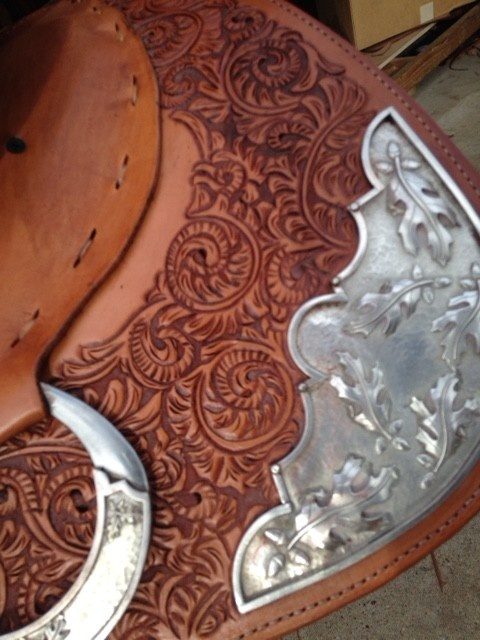 Jim Taylor Custom saddle Jim Taylor custom Original Dell Hendriks