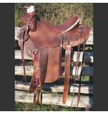 RW Bowman Will James Rancher Saddle