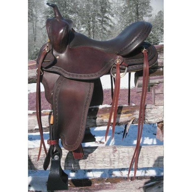 RW Bowman The Sendero Trail Saddle