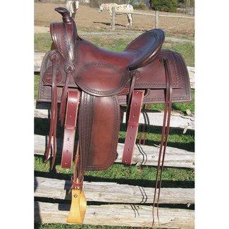 RW Bowman Mounted Shooter Saddle
