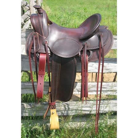 RW Bowman Mounted Shooter II Saddle