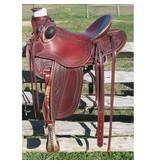 RW Bowman Mike Branch Wade Rancher Saddle