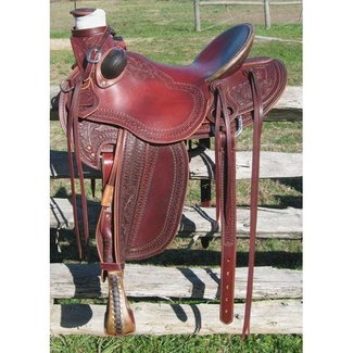 RW Bowman Mike Branch Wade Rancher Saddle