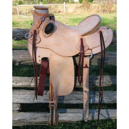 RW Bowman Mike Branch Rough Out Saddle