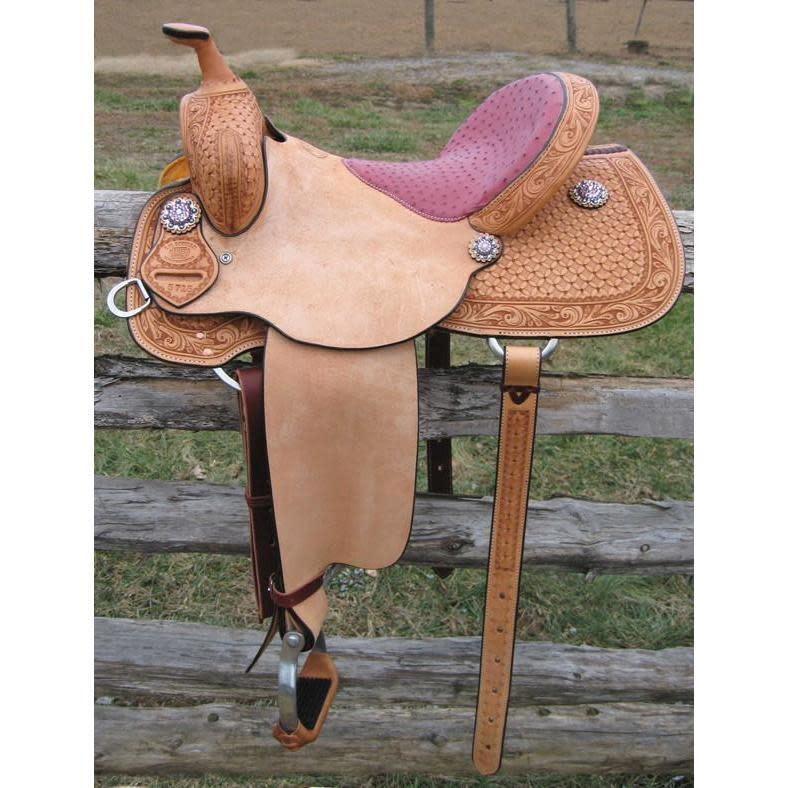 RW Bowman Exotic Barrel Saddle